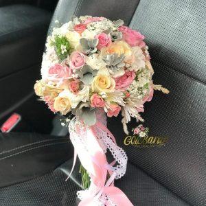 دسته گل عروس لطیف