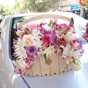 باکس گل رنگارنگ